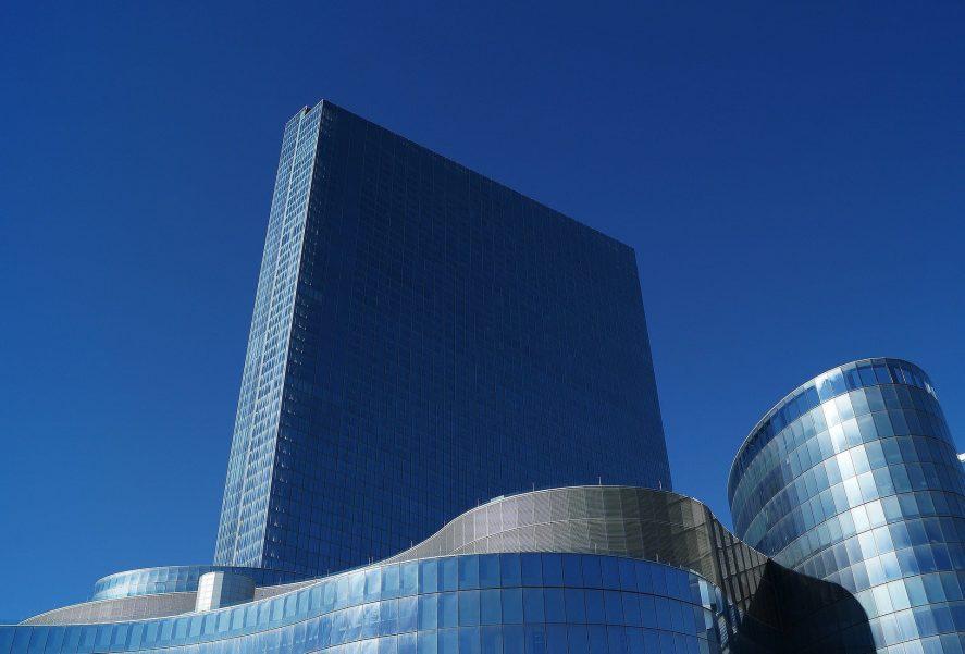 Sebuah khas Atlantic City - New Jersey - bangunan modern.